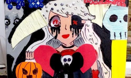 Sắc mâu Halloween tại Skyart